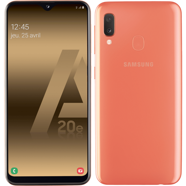 Samsung - Galaxy A20e - Corail - Smartphone Android