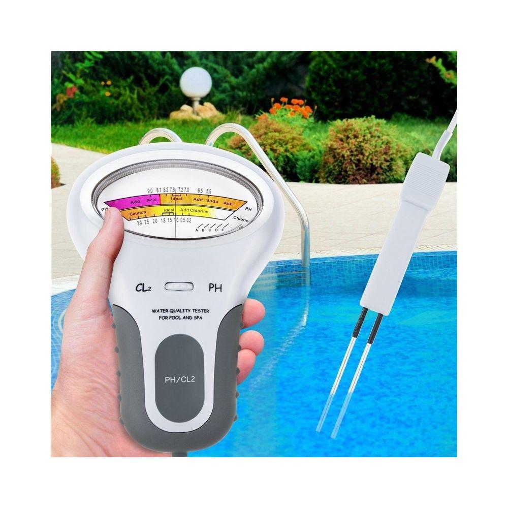 Wewoo Humidimètre Testeur de qualité de l'eau de piscine PC102 de de de gaz de chlore de stylo d'essai de pH