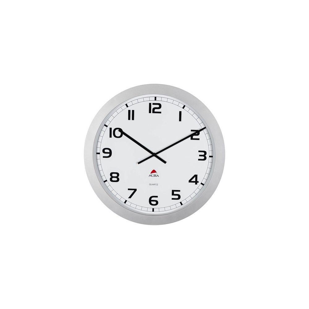 Alba Horloge murale géante gris ? 60 cm