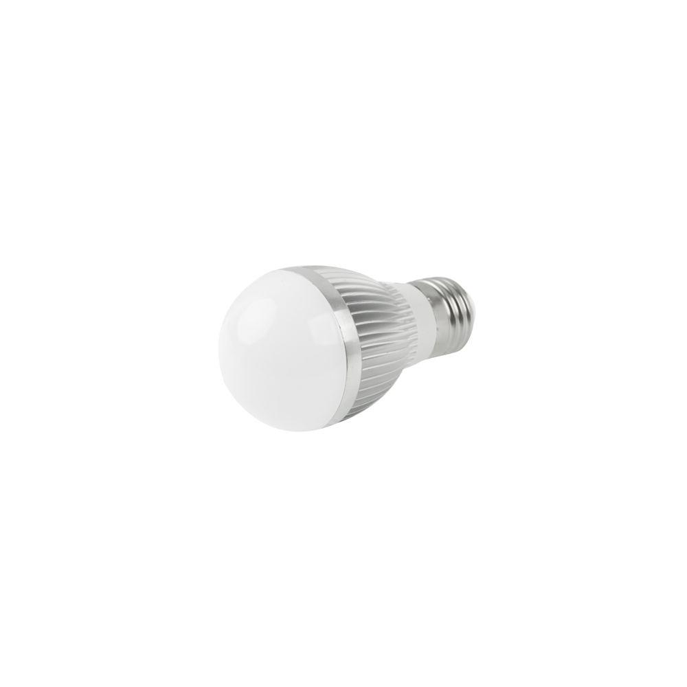 Wewoo Ampoule blanc E27 4W Réglable Luminosité chaud LED Ball raide, AC 85-265V