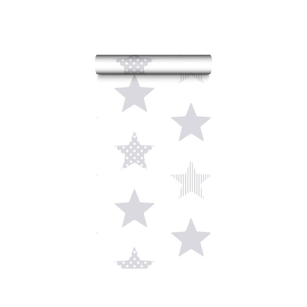 Graham Papier peint 100% intissé motif étoile gris/argenté 10.05x0.52m SUPERSTAR