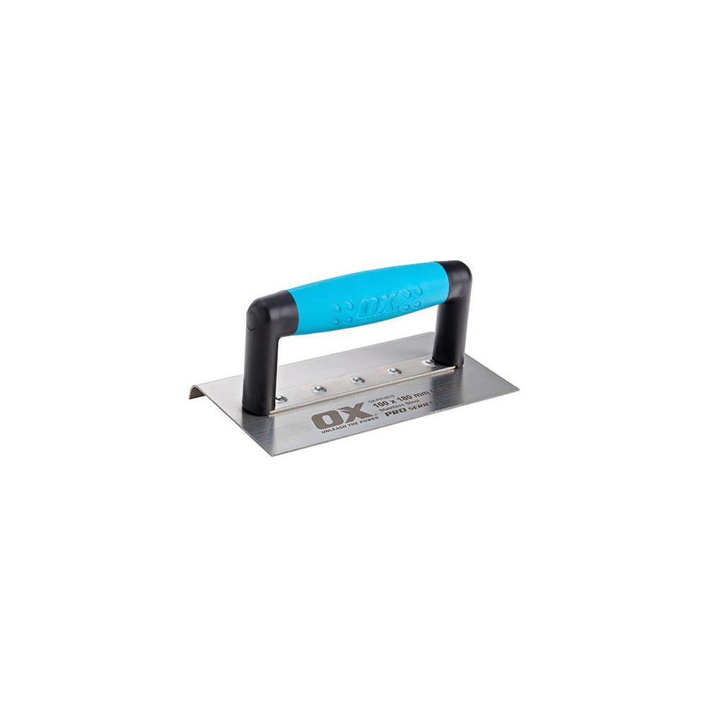 Ox Fer à bordure moyen angle Dim. 100 x 180 x 10 mm - OXP014510 - OX Pro