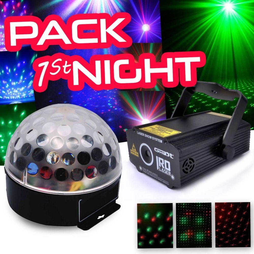 Ghost Pack 1st NIGHT Boule crystal + LAS Ghost Irolaser
