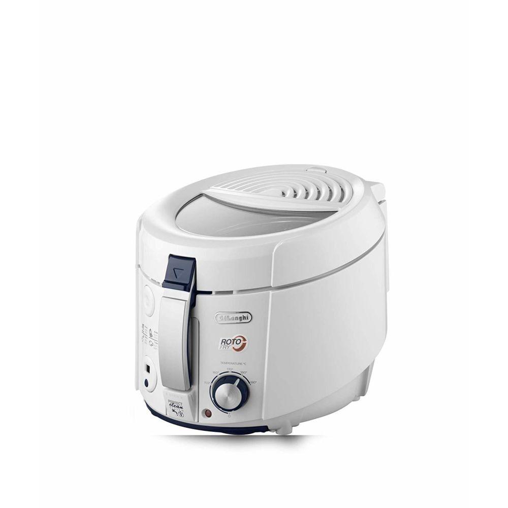Delonghi friteuse électrique 1,2L de 1KG avec Fonctions du minuteur 1800W blanc