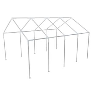Vidaxl vidaXL Structure de tente chapiteau pavillon jardin 8 x 4 m