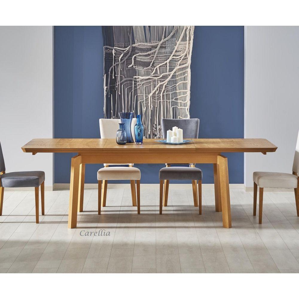 Carellia TABLE A MANGER RECTANGULAIRE EXTENSIBLE 160÷250 cm x 90 cm x 78 cm