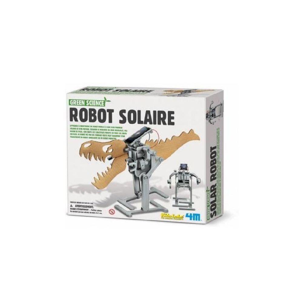 4M - Kidz Labs Kit de fabrication Green Science : Robot Solaire