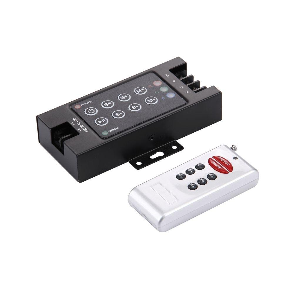 Wewoo SX-042RF Double carte 8 touches noir RF télécommande avec télécommande, DC 12-24V