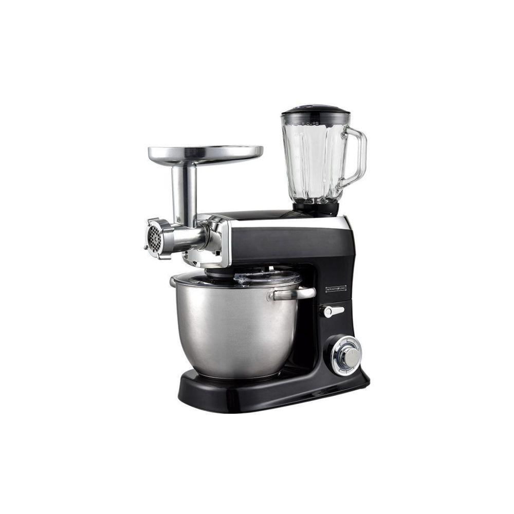Royalty Line Royalty Line PKM 2100 BG Robot de cuisine 3 en 1 avec 2100 watts max Noire