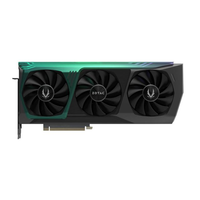 Zotac -GeForce RTX 3080 AMP EXTREME HOLO - Triple Fan - 10Go Zotac  - Carte Graphique NVIDIA