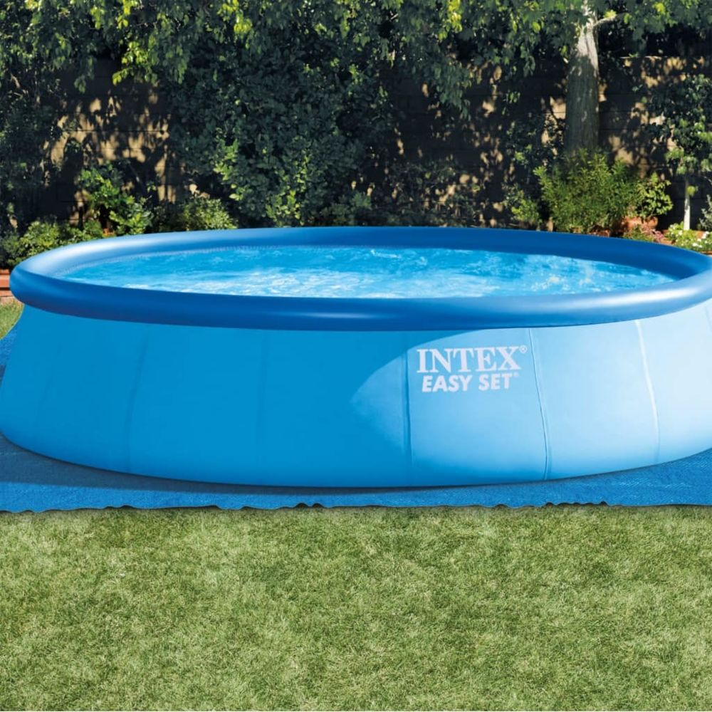 Intex - Intex Tapis carré de sol pour piscine 10 x 10 cm 10