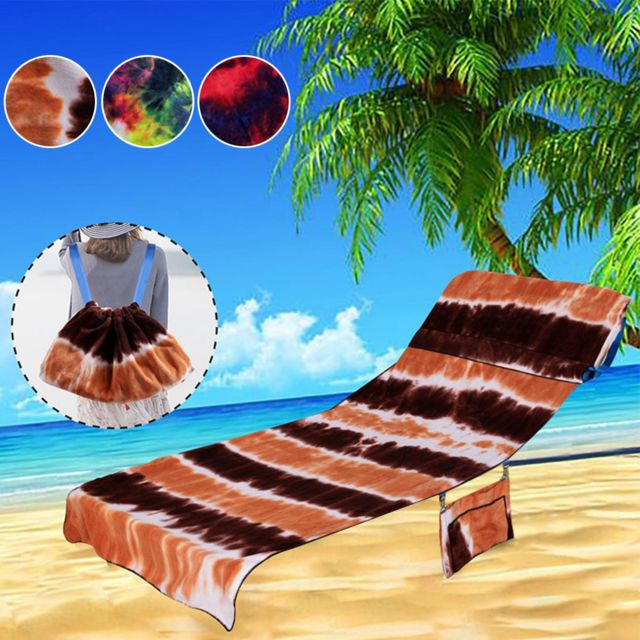 chaise plage serviette plage chaise couverture chaise longue serviette