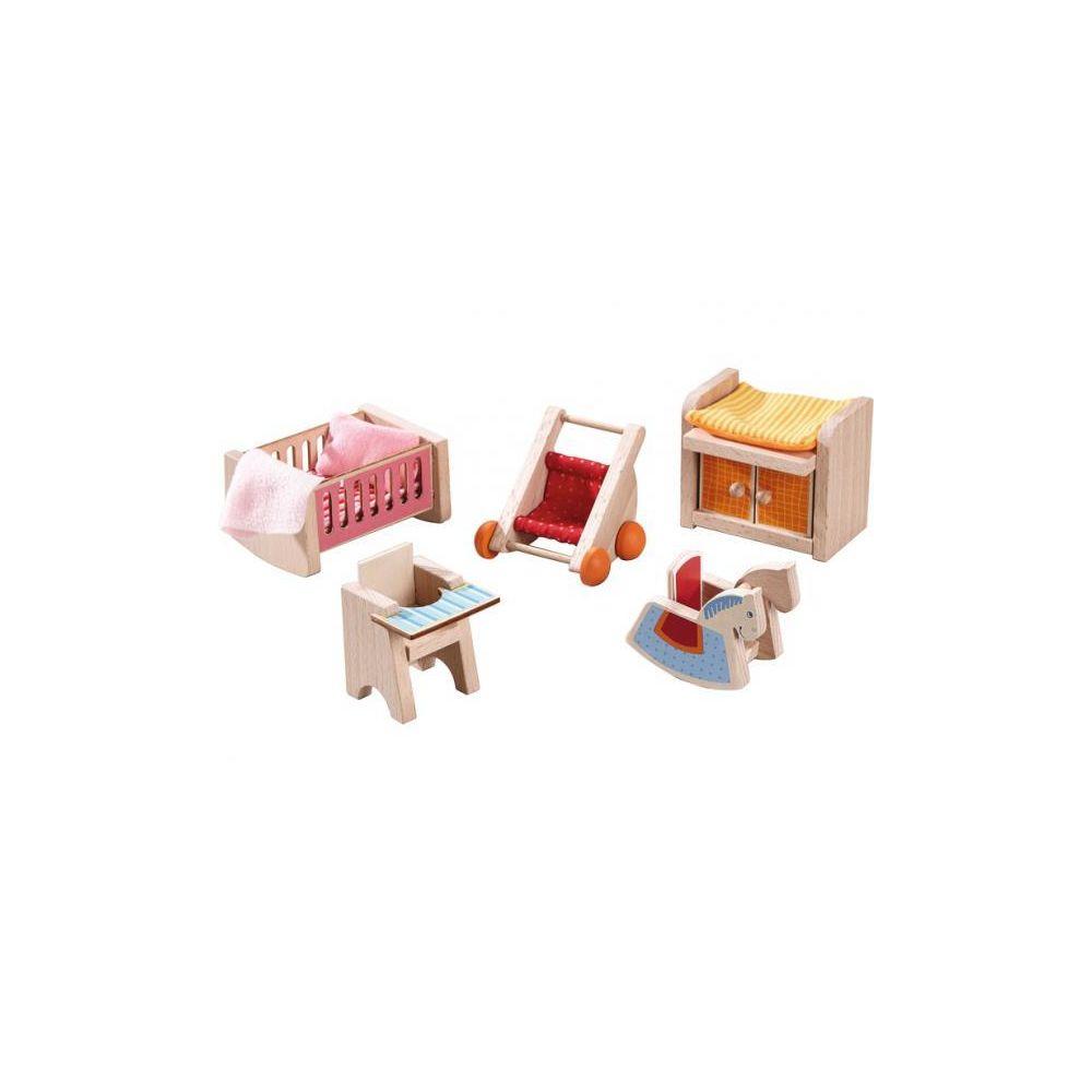 Haba Little Friends ? Meubles pour maison de poupée Chambre d?enfant