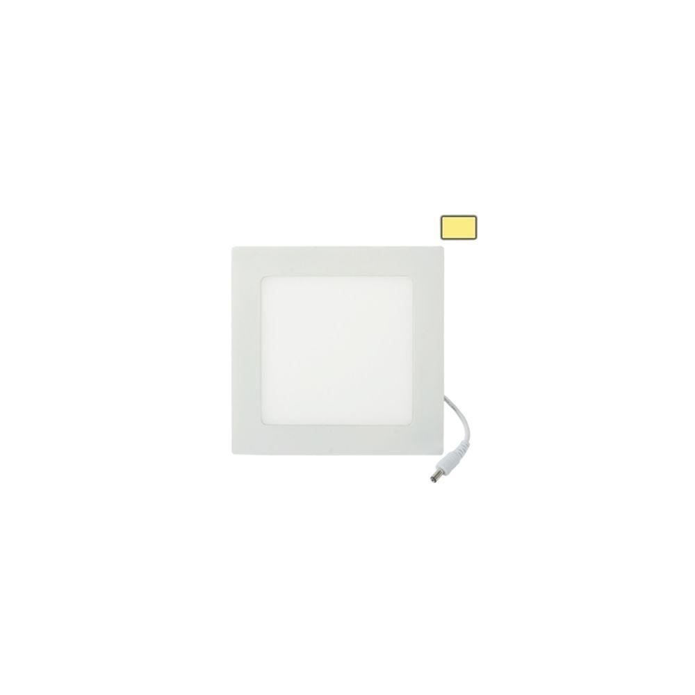 Wewoo Dalle LED Ampoule Lanternes 12W Chaud Blanc, Flux Lumineux: 880lm, Taille: 17.1cm x 17.1cm x 1.7cm