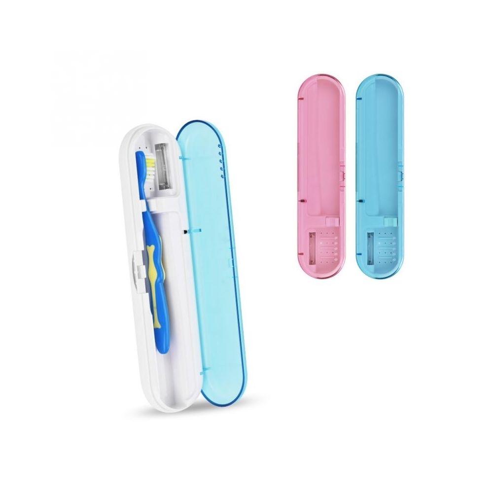 Wewoo Boîte de désinfection de brosse à dents pour stérilisateur de brosse à dents automatique UV LED Light (bleue)