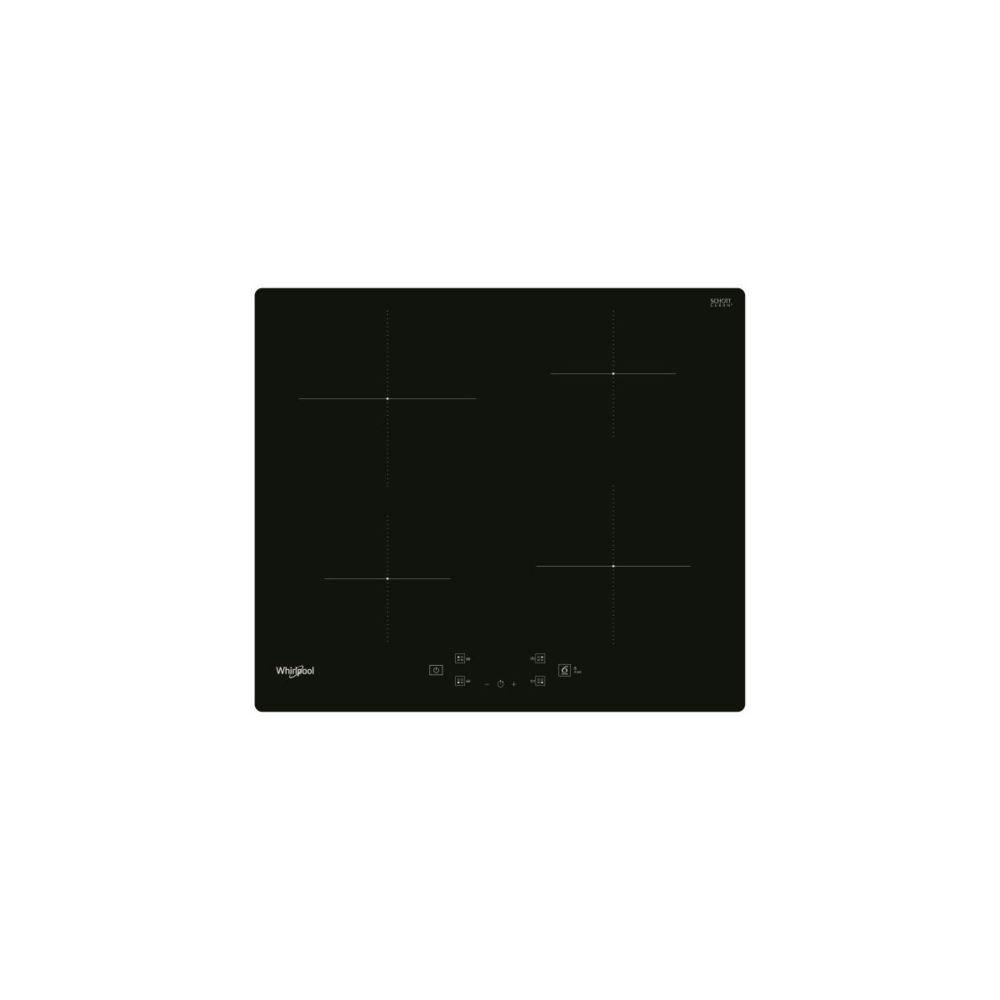 whirlpool Table Induction, Noir, 60cm, 4 Zones, 4 Boosters, 9 Niveaux De Puissanc Whirlpool - Wsq2160ne