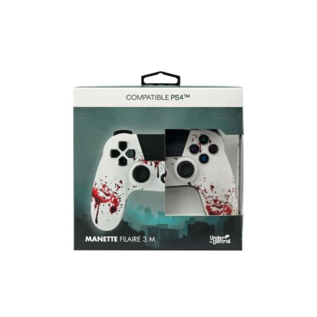 Under Control PROXIMA PLUS Manette Under Control - 3M - Compatible PS4 - Zombie