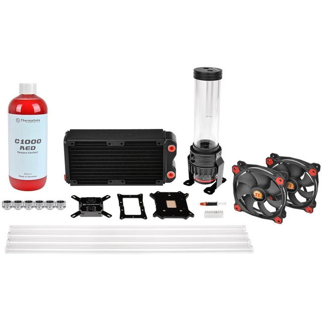 Thermaltake - Thermaltake Pacific RL240 D5 Hard Tube Water Cooling Kit - Watercooling