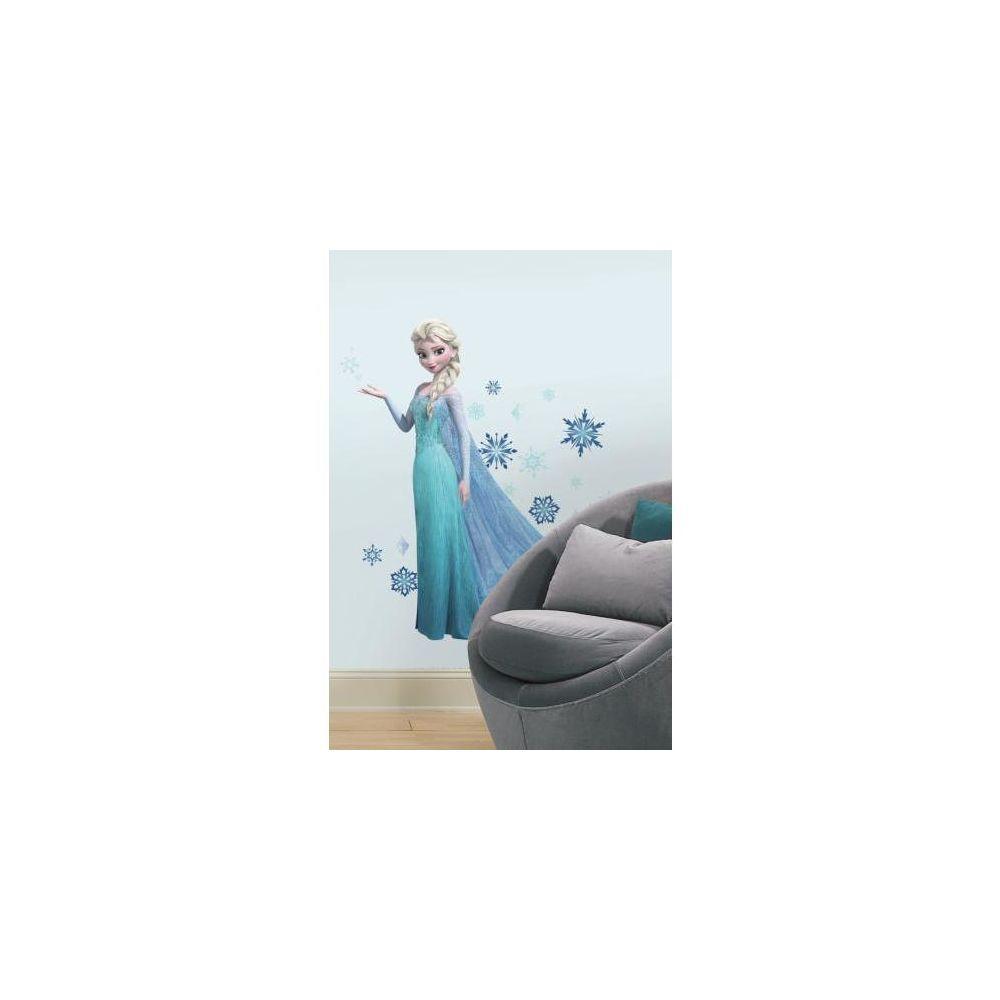 Mon Beau Tapis DISNEY ELSA LA REINE DES NEIGES - Stickers repositionnables Elsa de la Reine des Neiges, film d'animation Disney