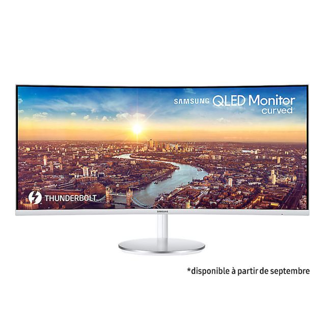 "Samsung - 34"""" LED C34J791WTU - Moniteur PC"