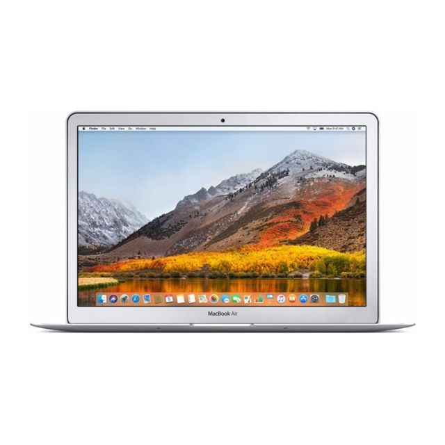 "Apple - MacBook Air 13"""" - Core i5 1.7GHz - SSD 128Go - RAM 4Go - Ordinateur portable reconditionné"