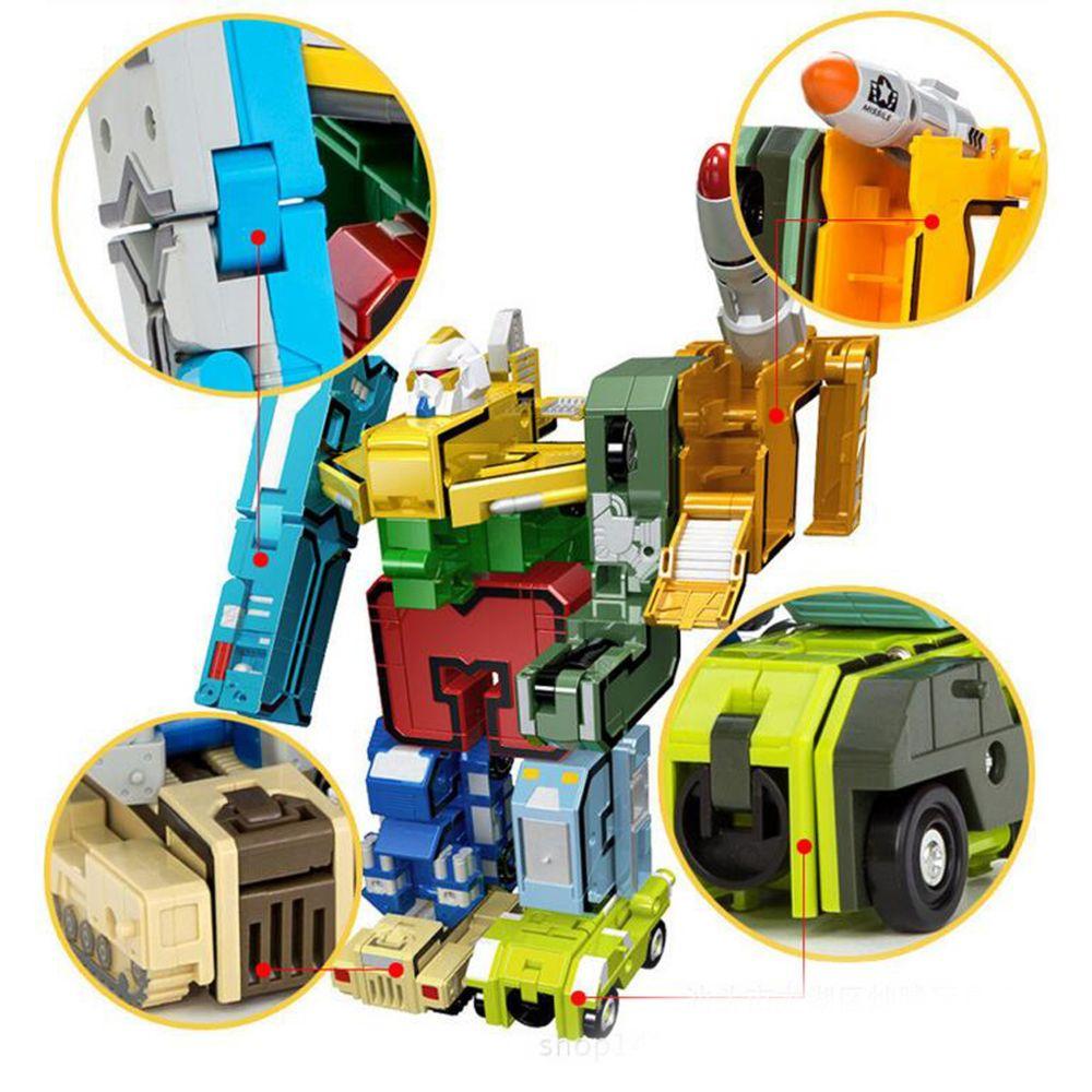 Marque Generique Numbers Transform Robot Jouet Jouet Transformer Robot Jouet Collectable Armee Jeu De Role Jouet Jouet Educatif Jeux Educatifs Rue Du Commerce