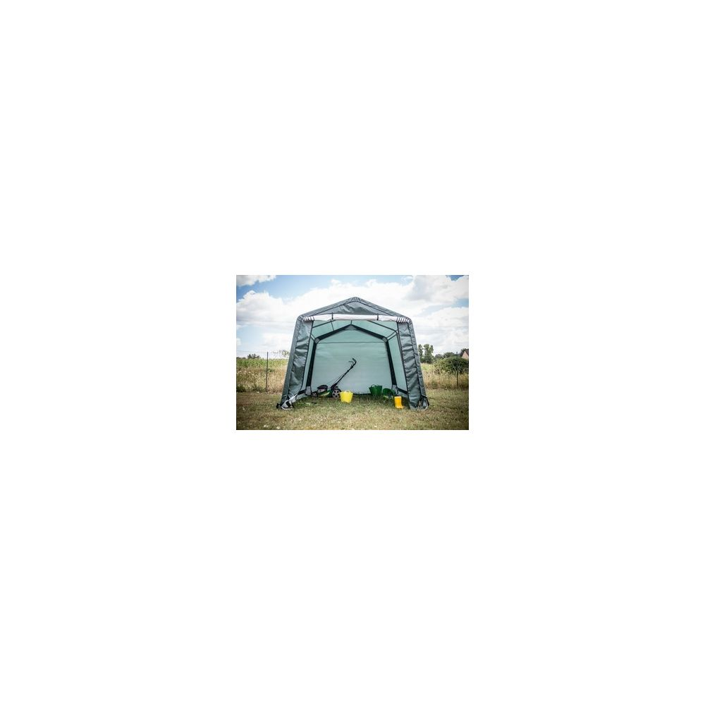 Foresta Foresta Abri jardin en toile verte toit 2 pentes 9.3 m2 HABAT3030