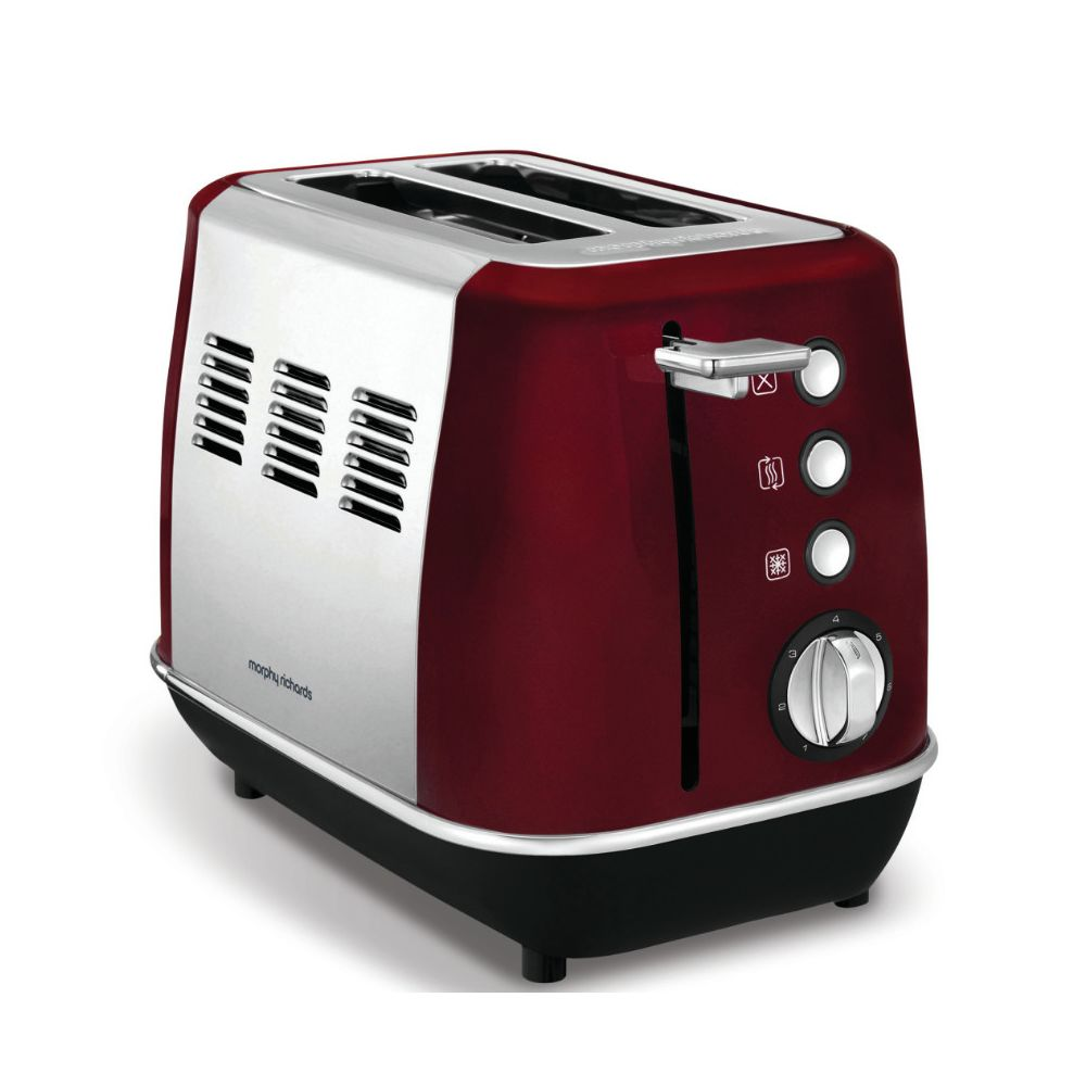 Morphy Richards morphy richards - grille-pains 2 fentes 850w rouge - m224408ee