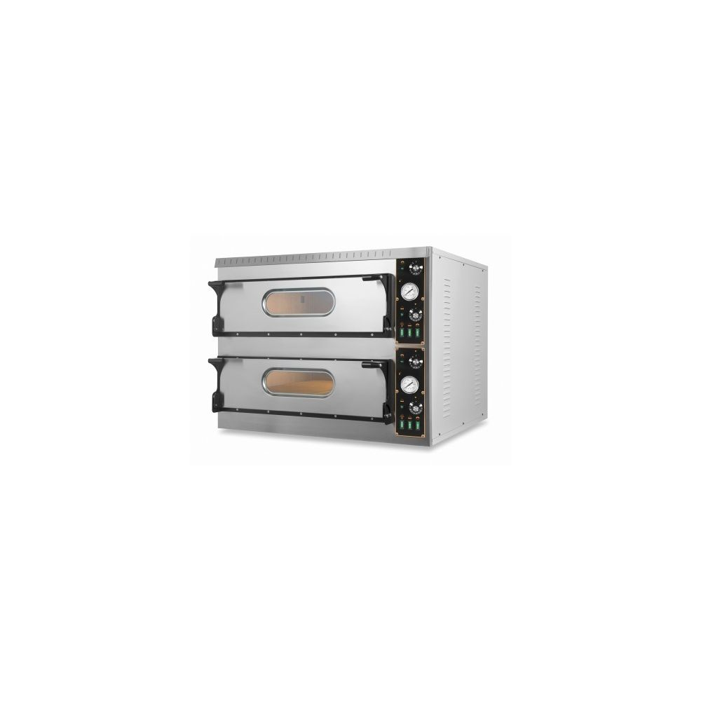 Resto Italia Four à pizza double électrique pour pizzeria pro - TL Big 18,0 kW - Resto Italia -