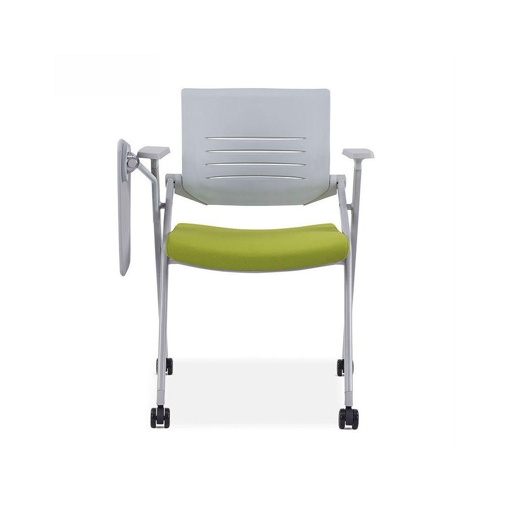 Wewoo Chaise de conférence avec d'écriture pliante en maille respirante 129D épaisse et vert