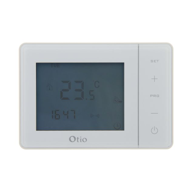 Otio - Thermostat programmable filaire blanc - Energie connectée