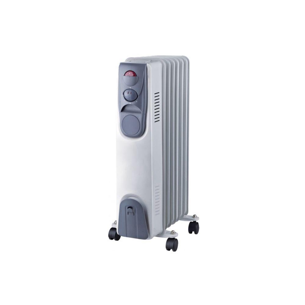 Niklas Radiateur bain d'huile 1500W NIKLAS 230V 3 puissances de chauffe - Thermostat - Corps metal verni