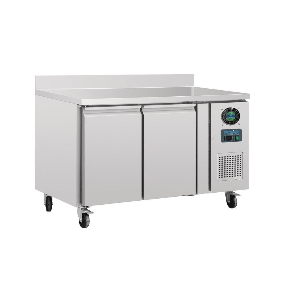 Polar Table Réfrigérée Négative 282 litres - 2 Portes avec Dosseret - Polar - 700