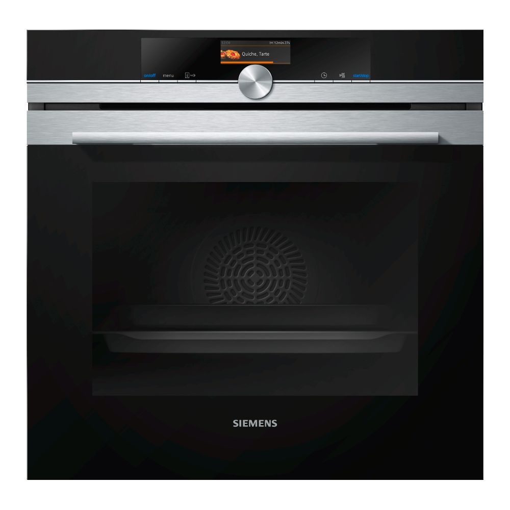 Siemens siemens - four intégrable multifonction 71l 60cm a+ pyrolyse inox - hb676g0s2