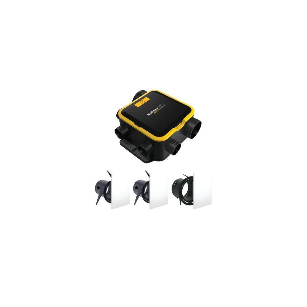 Aldes VMC simple flux autoréglable kit EasyHome Auto Compact - Aldes