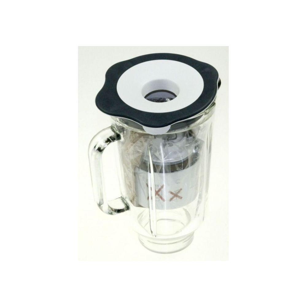 Kenwood Bol blender en verre blanc 1,7l pour robot chef et major kenwood