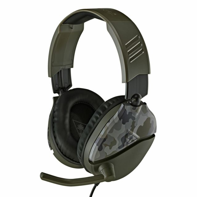 Turtle Beach - Recon 70 Green Camo - Micro-Casque Circum auriculaire