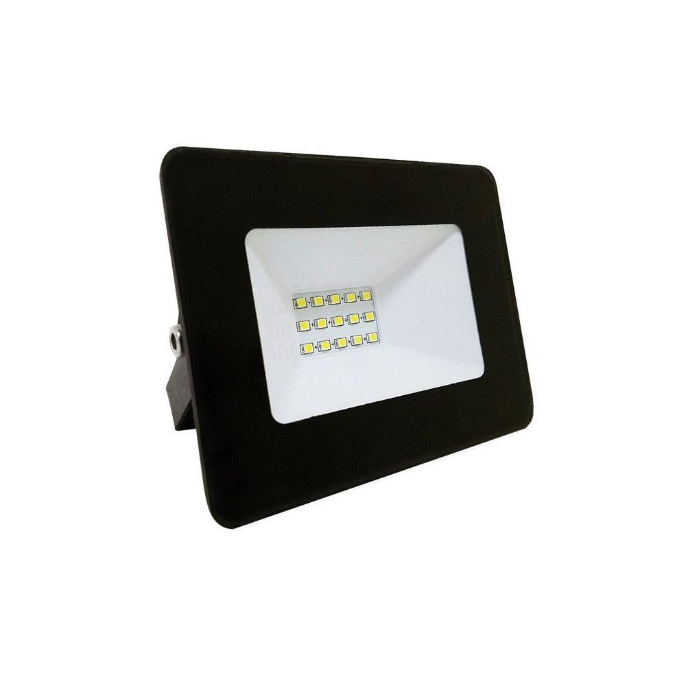 Eclairage Design Projecteur LED Black IP65 extérieur 10W 900 lumens (Température de Couleur Blanc froid 6400K)