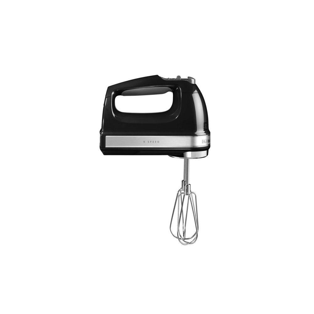 Kitchenaid KITCHENAID Batteur 85W + Accessoires Noir Onyx 5KHM9212EOB