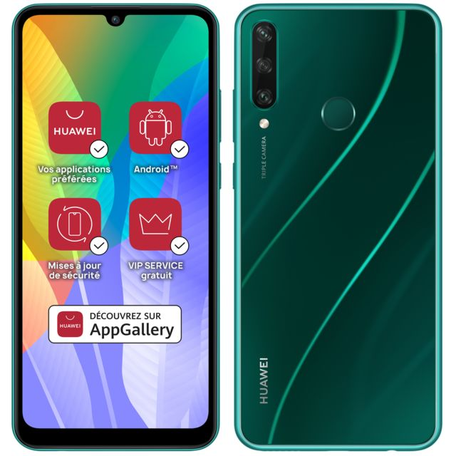 Huawei - Y6p - Vert - Smartphone Android 6.3 (16,0 cm)