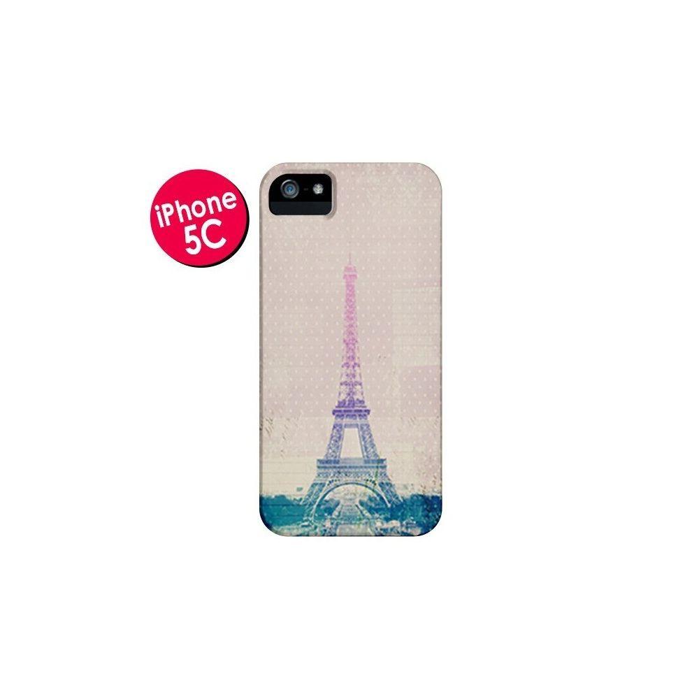 Apple - Coque iPhone 5C I love Paris Tour Eiffel - Mary Nesrala ...