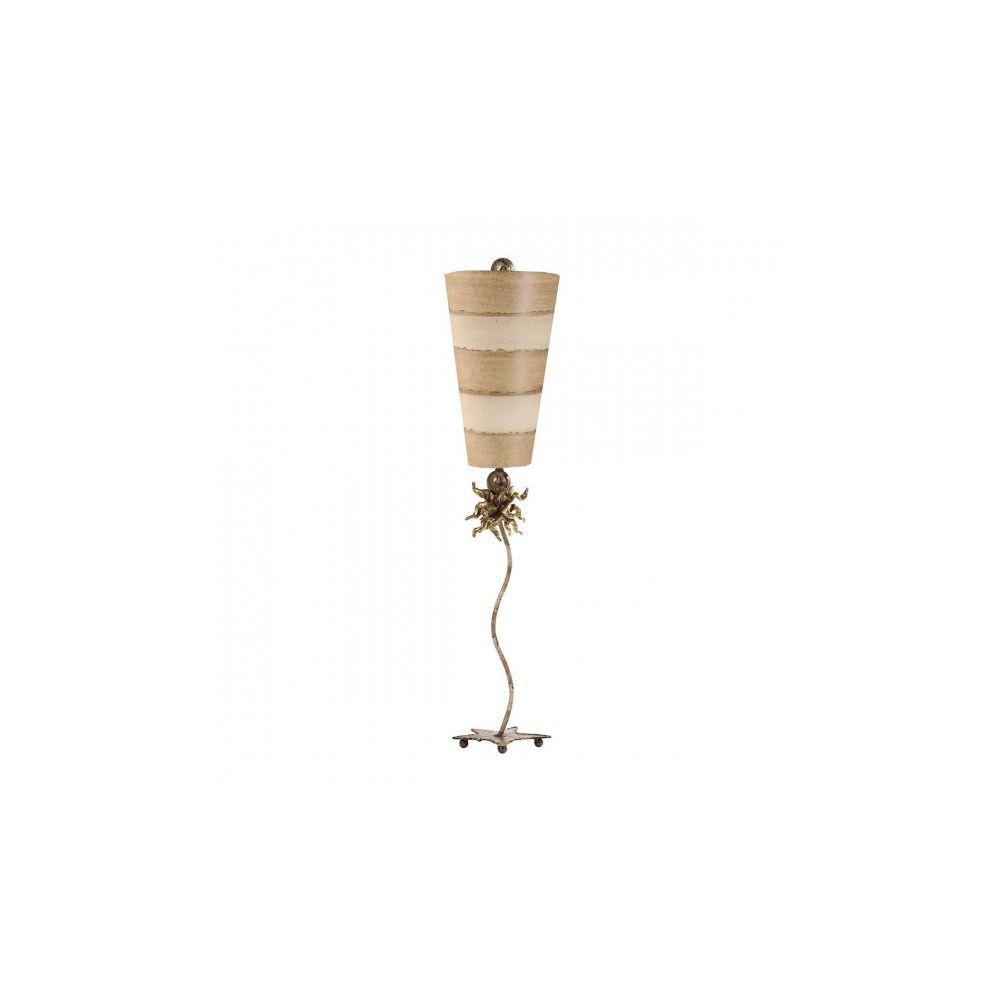 Elstead Lighting Lampe anemone, taupe et crème