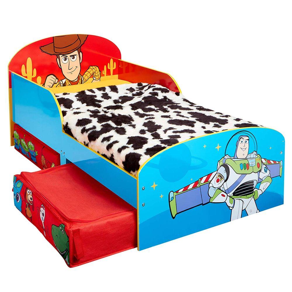 WORLDS APART Lit pour enfants avec espace de rangement sous le lit Toy Story Disney