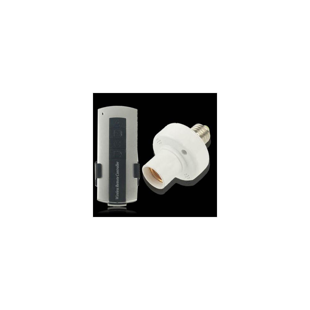 Wewoo E27 Télécommande sans fil, blanc à 360 degrés Gamme complète