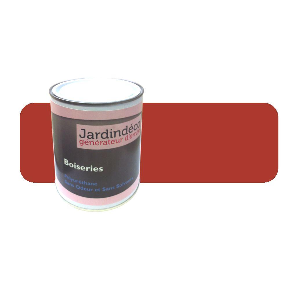 Bouchard Peintures Peinture rouge de sécu pour meuble en bois brut 1 litre