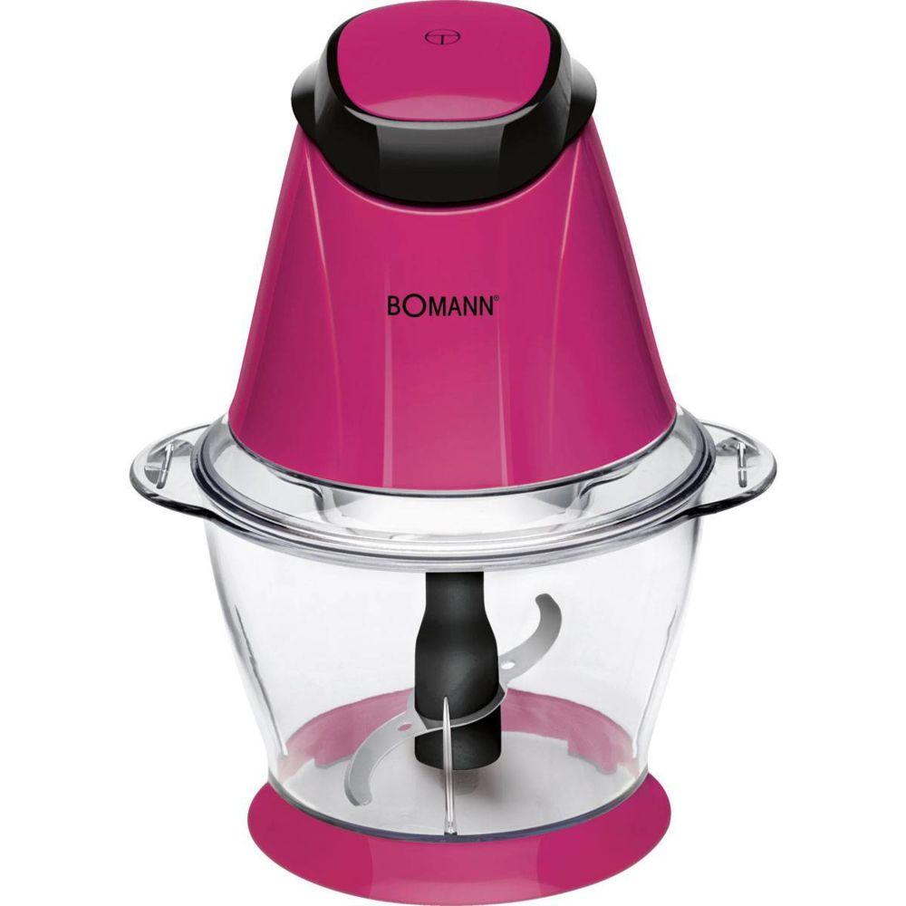 Bomann Mini Hachoir Electrique Bol 1 L fonction de broyage de glace 250W Bomann MZ 449 CB