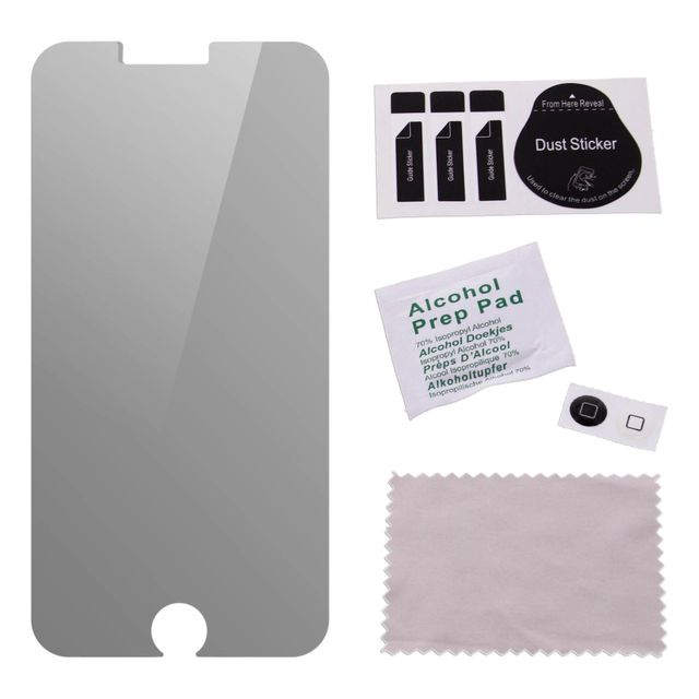 Avizar Film Anti Espion Protection Ecran en Verre Trempé Compatible iPhone 6