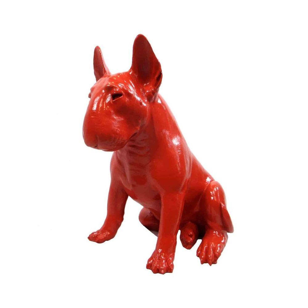 Multideco Statue chien Bull terrier