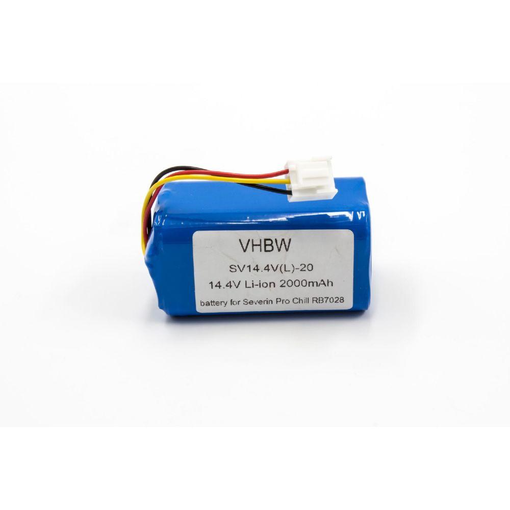 Vhbw vhbw Li-Ion batterie 2000mAh (14.4V) pour Home Cleaner robots domestiques come Severin Chill RB7028