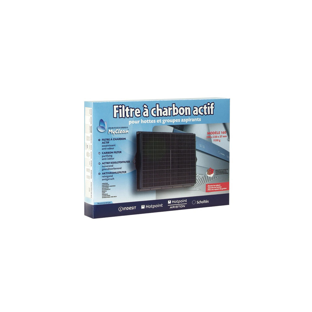 Scholtes FILTRE A CHARBON MOD 160 POUR HOTTE SCHOLTES - C00090743